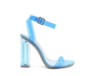 Cape Robbin Blue pvc sandal